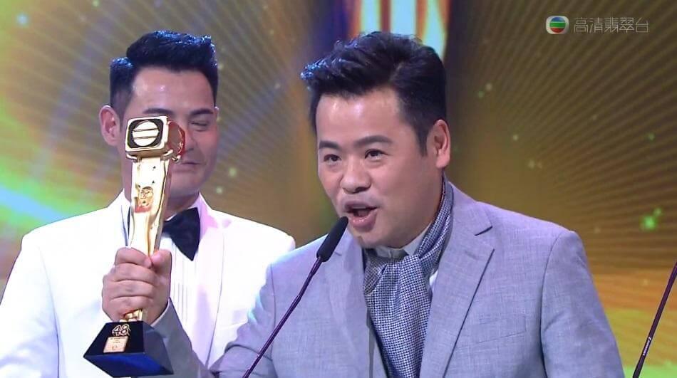 一五年台慶頒獎禮,韋家雄憑《梟雄》奪得最佳男配角。