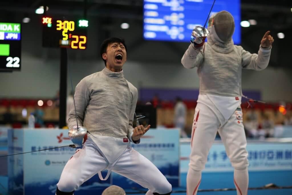 林衍聰告別十九年劍擊運動員生涯