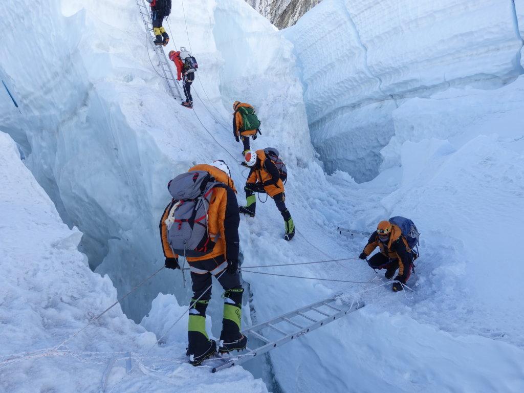 盧澤琛認為攀雪山難度較高,但景色也最美麗。
