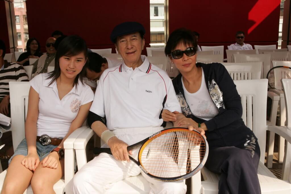 賭王最愛打網球,三太和超蓮都不會是他對手。