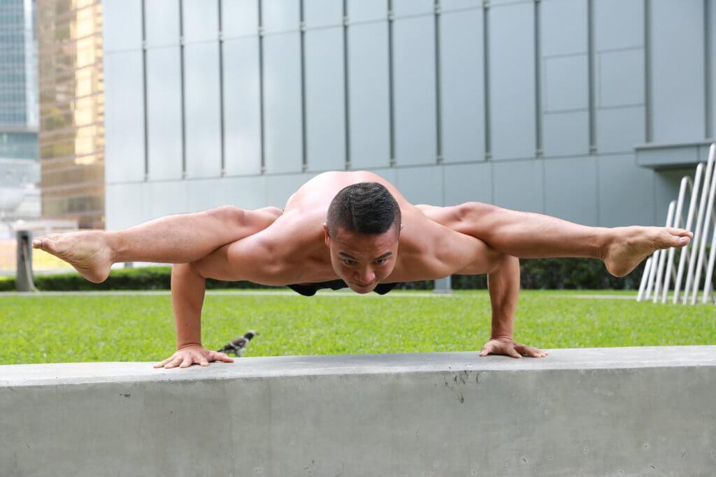 高浚華練瑜伽後開始純素,希望身心靈更健康。