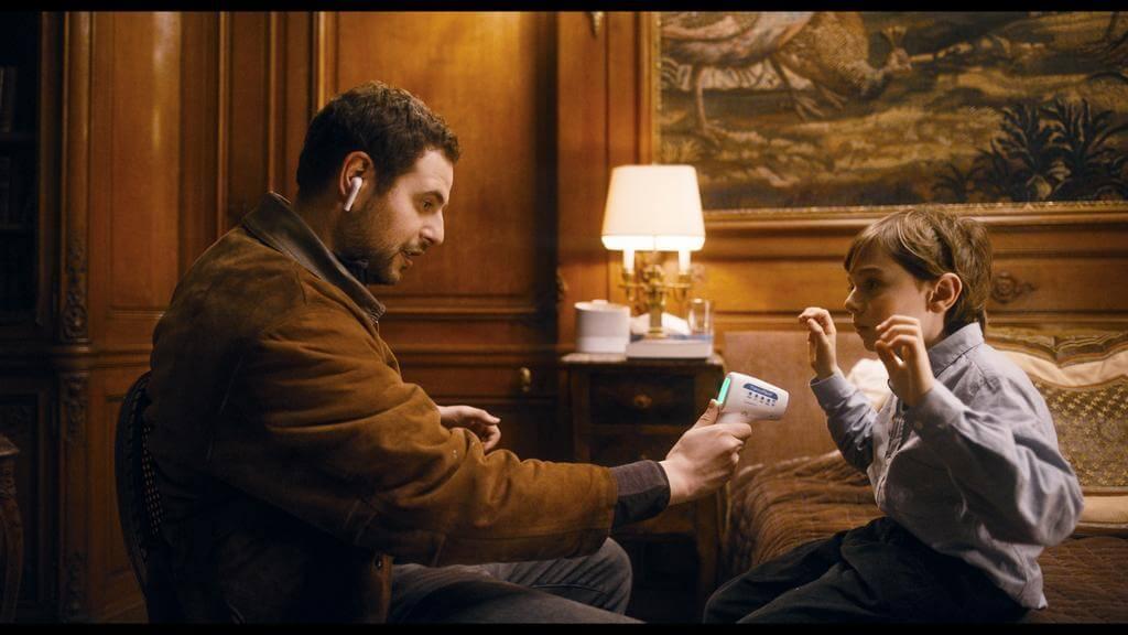 法國網紅哈金傑米利初登大銀幕,主演電影《醫生速遞》。
