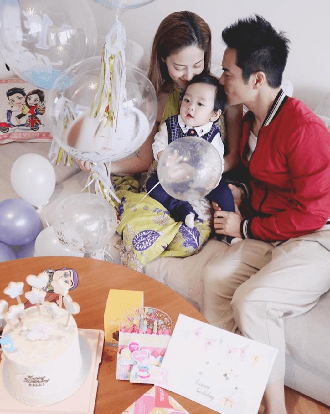 兒子Rafael一歲生日