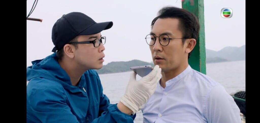 KT與譚俊彥在船上告白一幕,終揭開他是「第八人」身份。