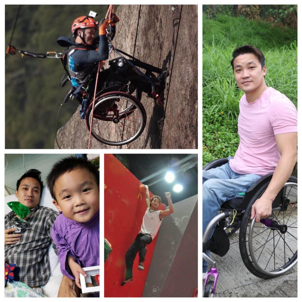 黎志偉意外後兒子誕生,就算做輪椅他也希望做個快樂又積極的爸爸。