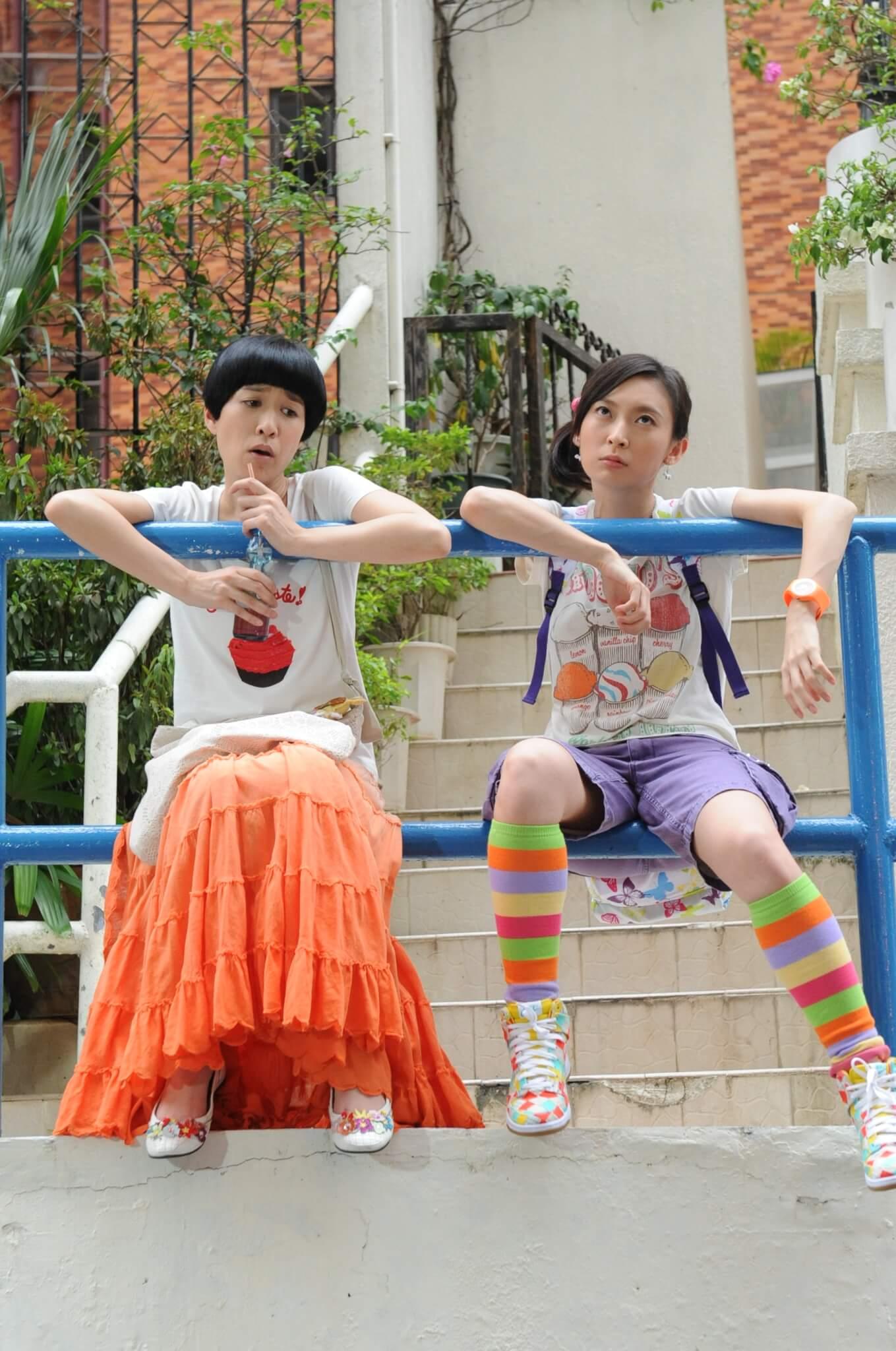 二○一一年於《花花世界花家姐》飾演智障人士哈皎皎