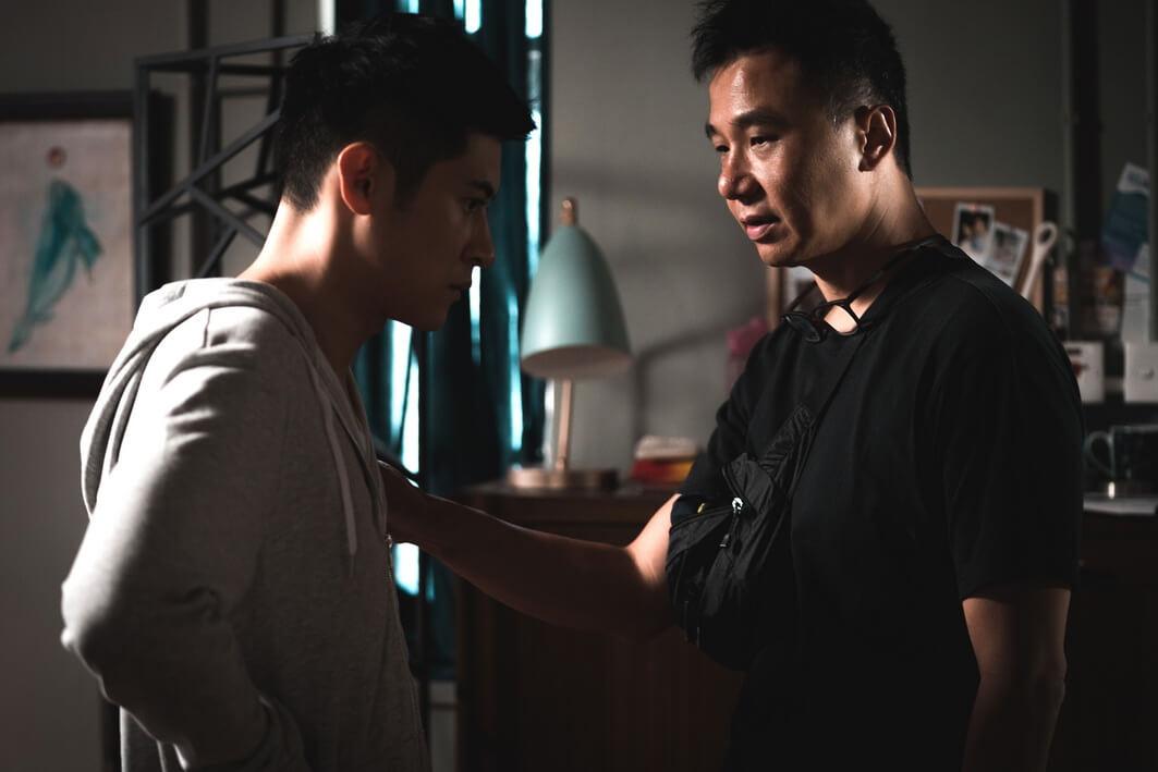 與導演袁劍偉