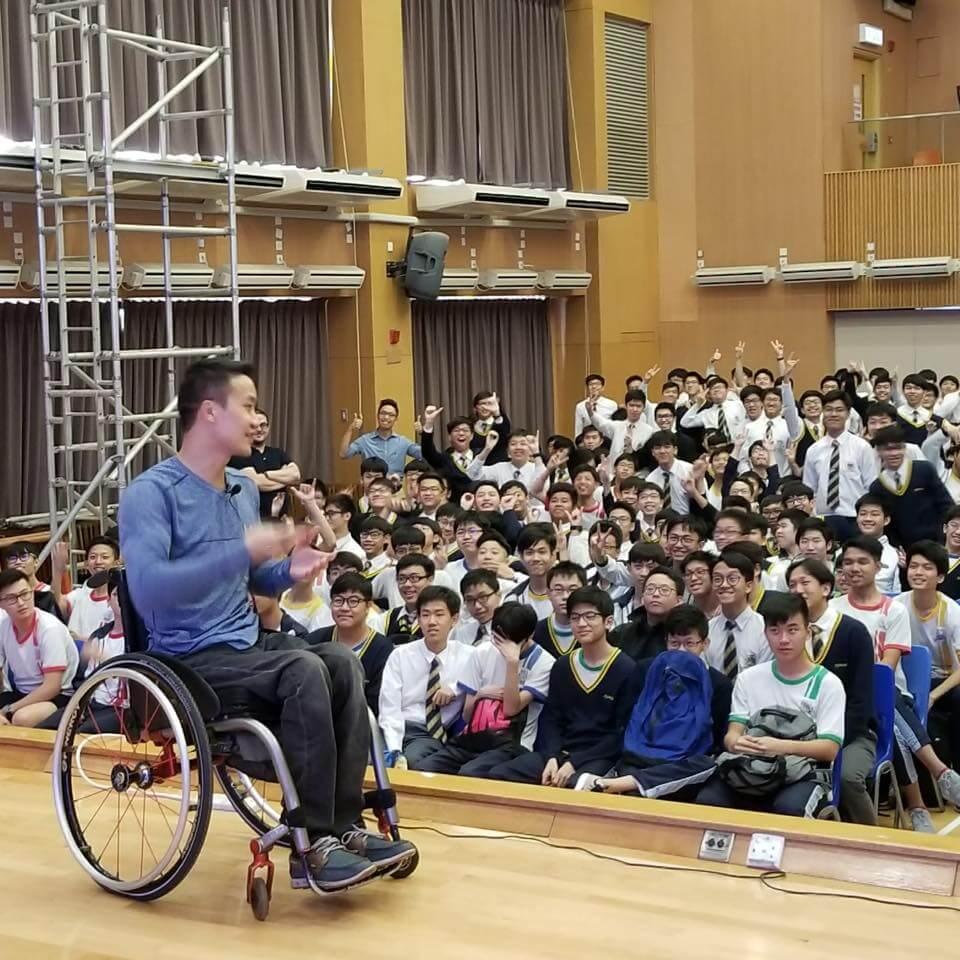 黎志偉的故事鼓勵了很多香港人