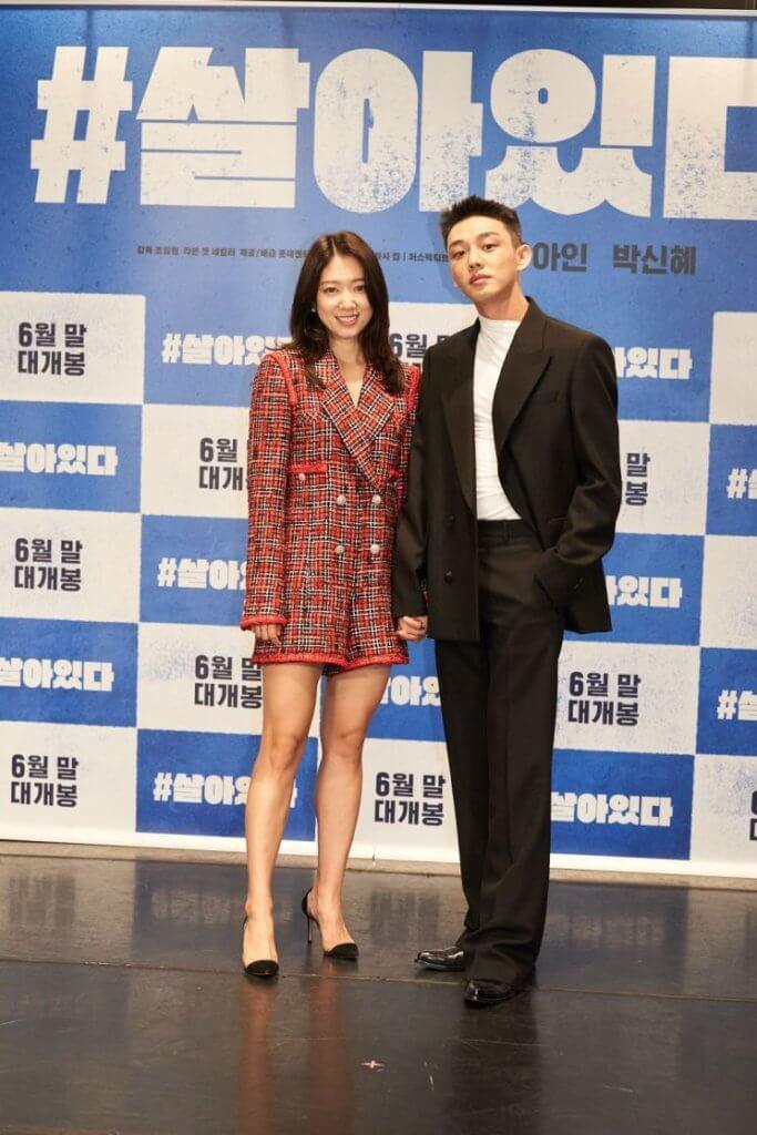 二人一同出席早前在首爾舉行的發布會,傳媒稱他們為「神仙組合」。