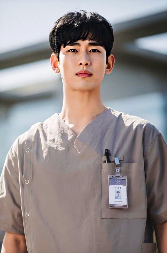 金秀賢飾演精神病院看護,並負起照顧兄長的責任。