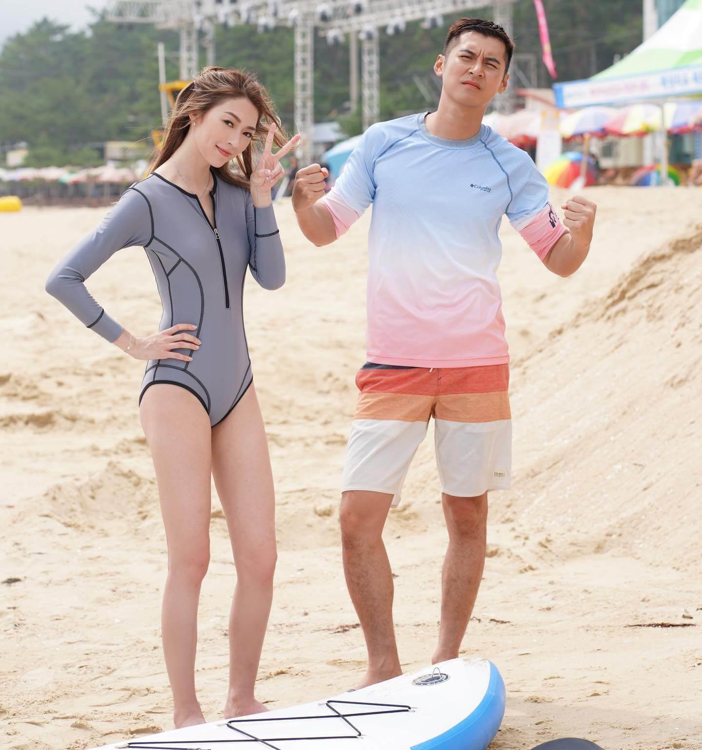 去年七月,連詩雅與陳家樂同赴濟州拍攝旅遊節目《12個夏天》,近日傳出兩人拍拖的消息。