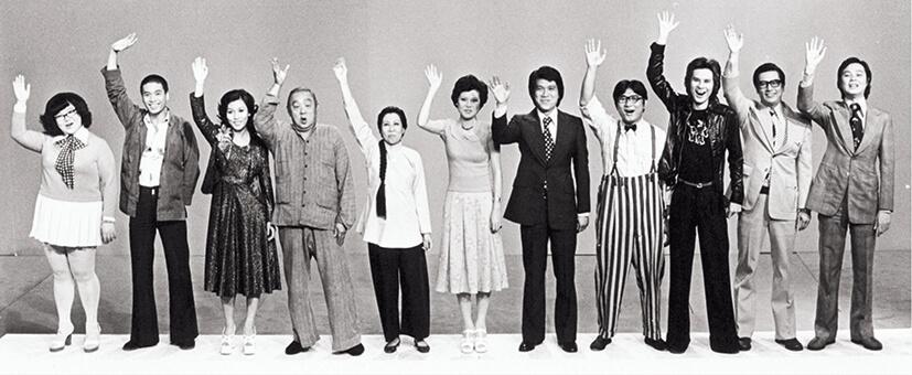 在一九六七年首播的《歡樂今宵》成為全世界最長壽的綜藝節目,沈殿霞、吳孟達、森森、梁醒波、尤芷韻、溫柳媚、何守信、譚炳文、甘國亮、張英才、杜平乃節目早期的中流砥柱。