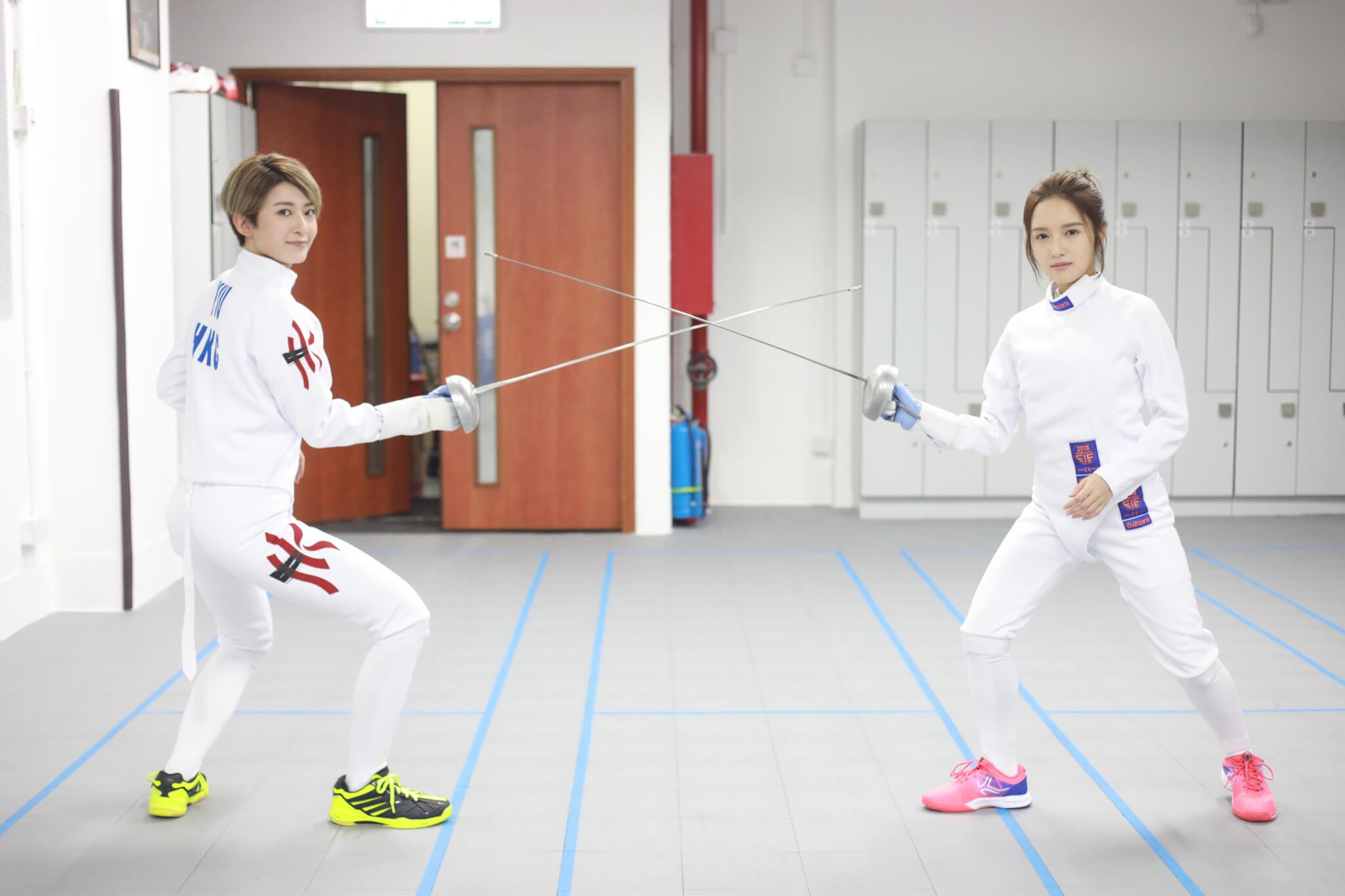 鄺潔楹與李君妍同樣表示今次角色十分有挑戰性,劇中更安排兩人對戰。