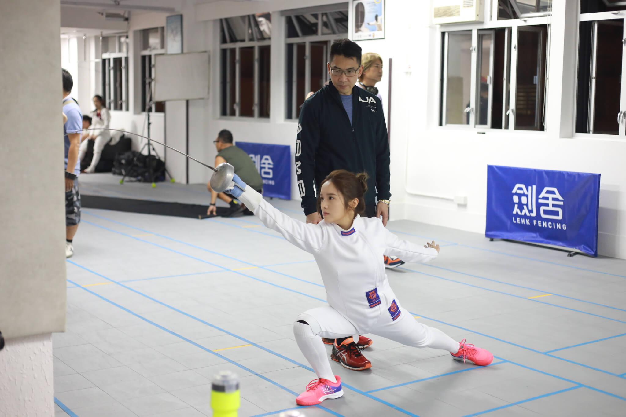Judy表示教練Patrick教學嚴厲,令她不停迫自己進步。