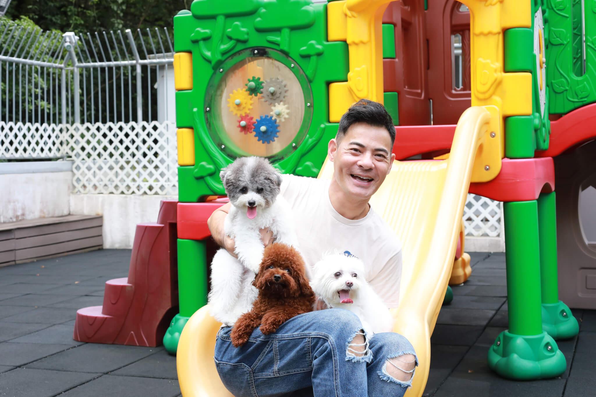 黃智賢表示作為主人,完全主宰愛犬的衣食住行,所以要盡心照顧。