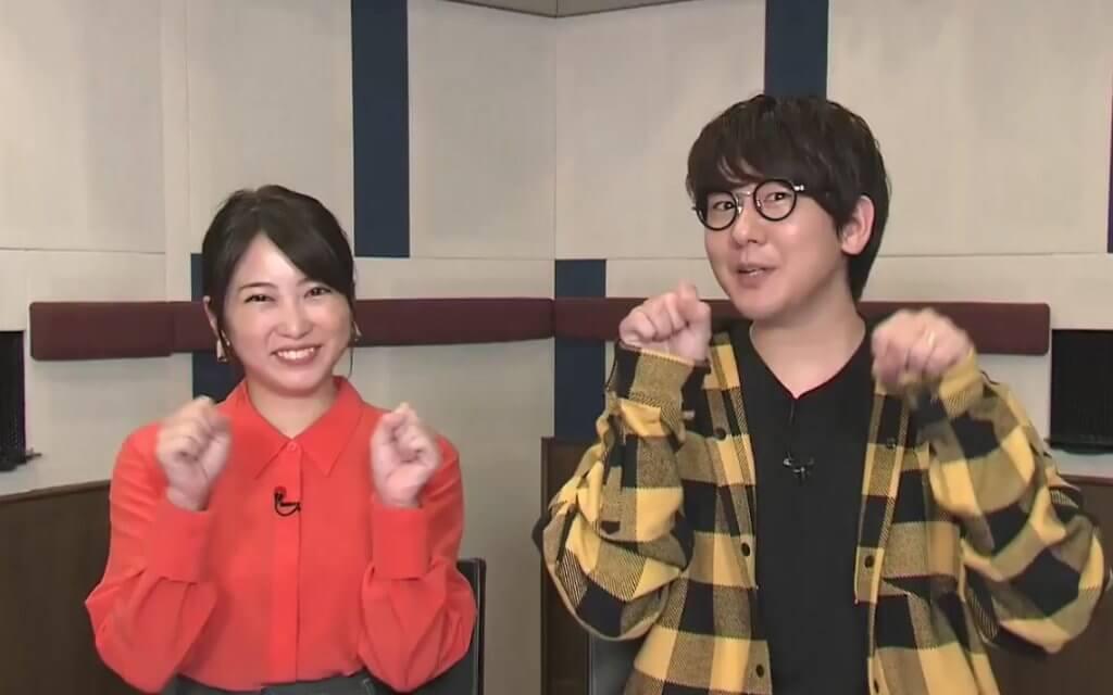 志田未來 (左) 與《鬼滅之刃》星級聲優花江夏樹聲演故事主角,大增吸引力。