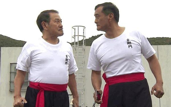 最近在《愛‧回家之開心速遞》與劉丹演鬥氣師兄弟,成了入屋的「池富」。