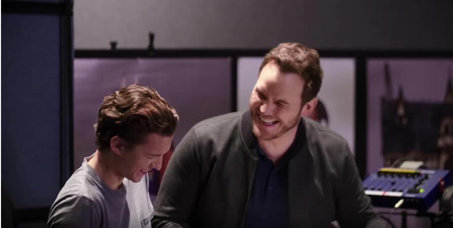 湯賀蘭(左)及基斯柏特聲演兩兄弟主角,表現合拍。