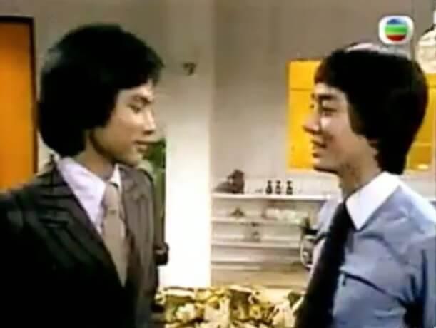 在1977年無綫長劇《家變》中,駱應鈞和任達華演同性戀。