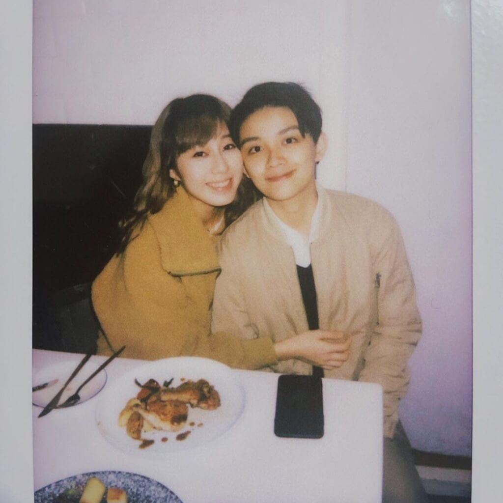 李寶珊今年情人節在社交網站上載跟孟希璘合照,並寫下「情人節快樂,我愛你」,勇敢公開出櫃。