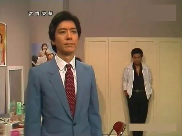駱應鈞在電視劇《富貴榮華》中飾演雷力濤一角