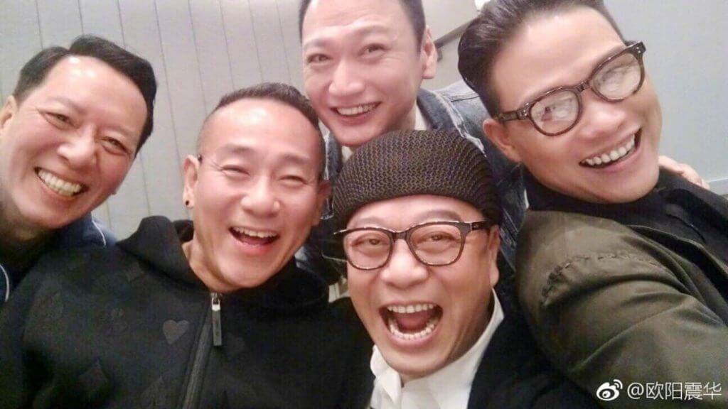 《壹號皇庭》演員重聚,林保怡、歐陽震華、陶大宇、蘇永康當年演律師,駱應鈞則演警察。
