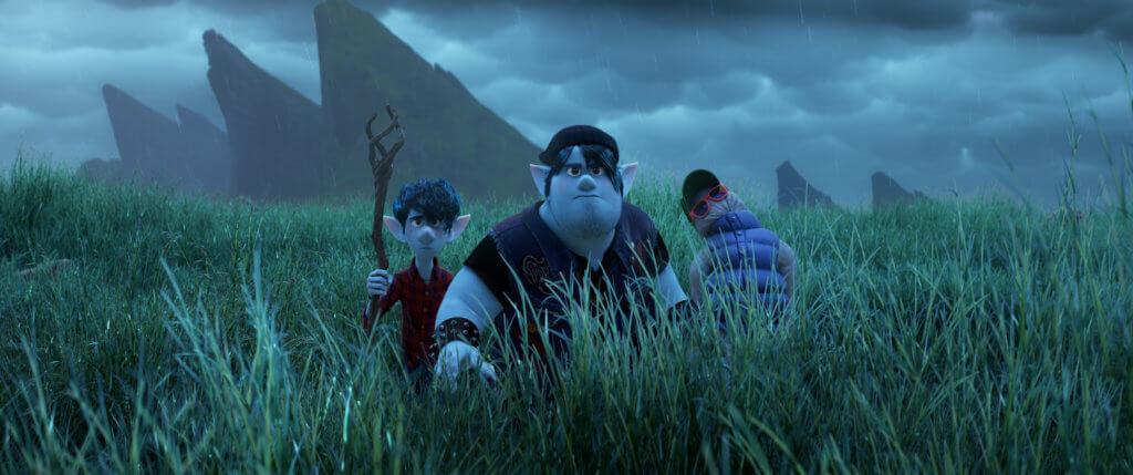哥哥肥巴(中)雖然沒有魔法天份,但對魔法很有研究,並在旅程中一直照顧弟弟。