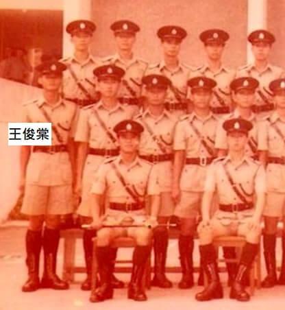 王俊棠行船做水手前後,做過兩年警察。