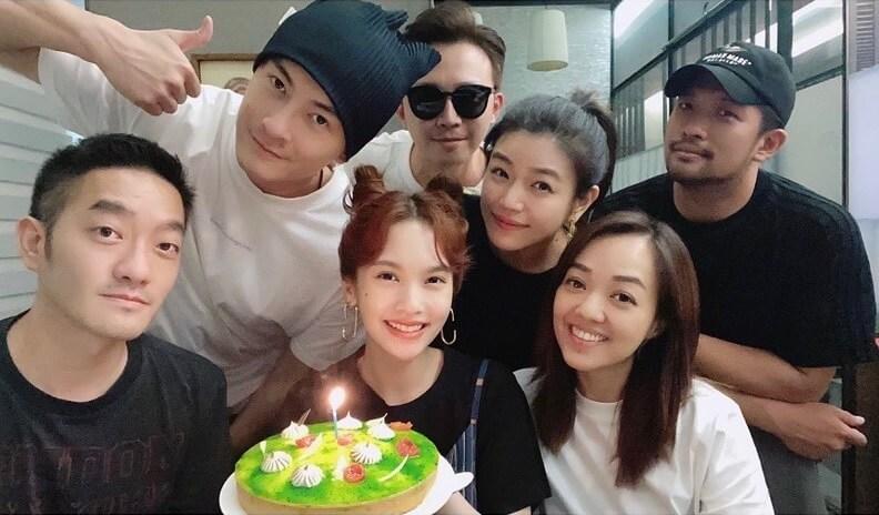 這幾個月裡,楊丞琳與陳妍希經常聚會。