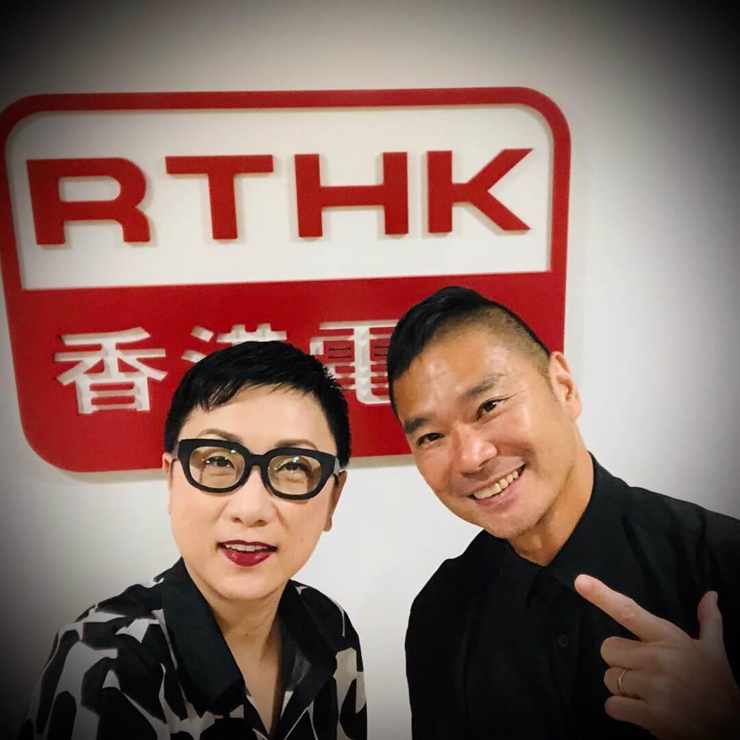 鄧達智於7月16日在港台主持節目,嘉賓有劉天蘭及馬恩賜。