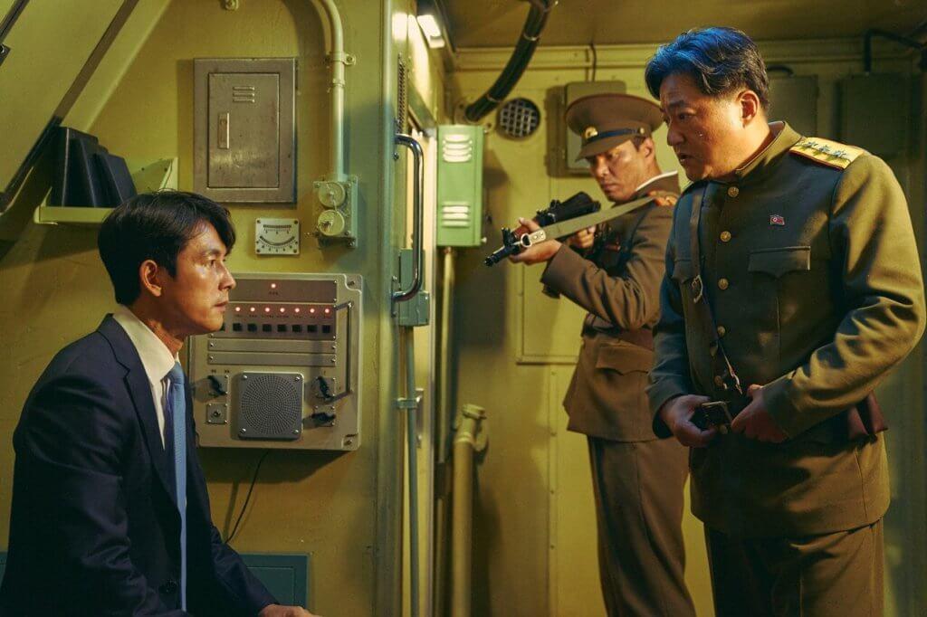 南北韓首腦出席峰會時,遇上北韓軍官發動政變而被挾持。