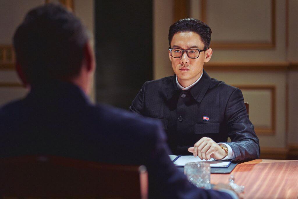 柳演錫飾演的北韓領導人頗有文青氣息