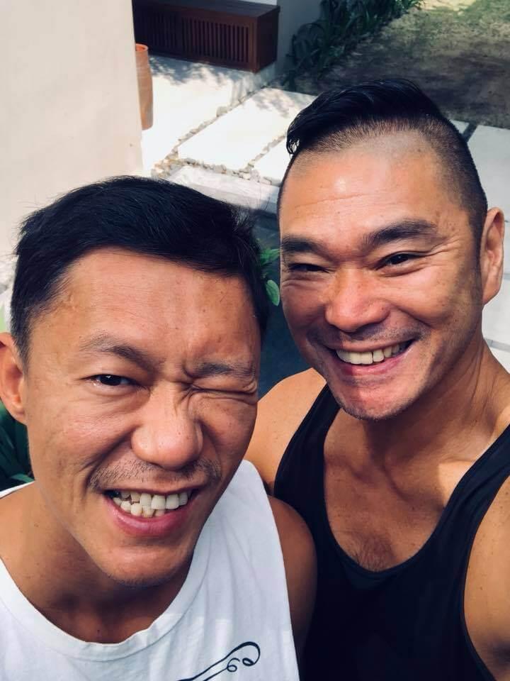 鄧達智初步確診新冠肺炎,但配偶陳梓欣的病毒檢測結果呈陰性。