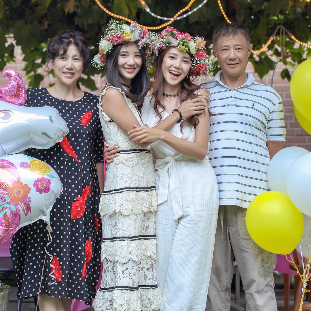 網友問倪晨曦姊妹花點解咁靚,佢話要問父母。