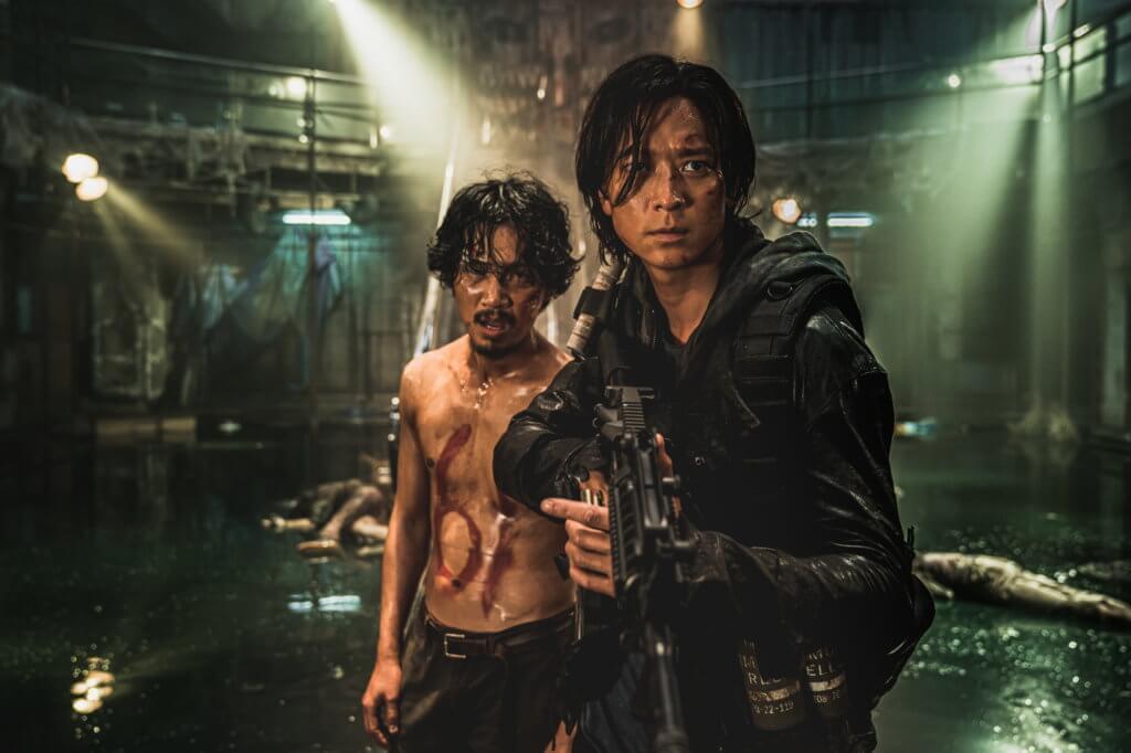 姜棟元在片中飾演賞金獵人,其後更成為擊殺喪屍的勇士。
