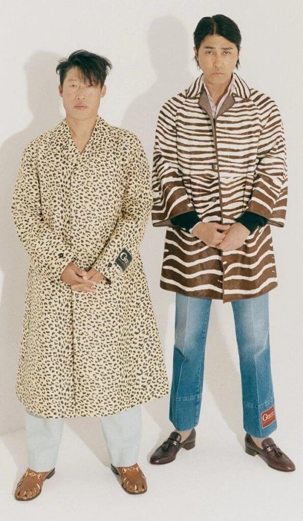 車勝元與柳海真為韓國版《Marie Claire》拍攝封面,展現復古時裝造型。