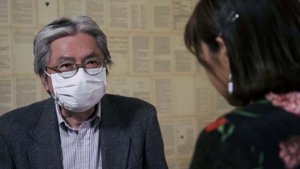 陳志雲說前財爺曾俊華背對白不是他的強項,所以都擔心拍攝時間都要久一些,怎知他拍得好快喎!