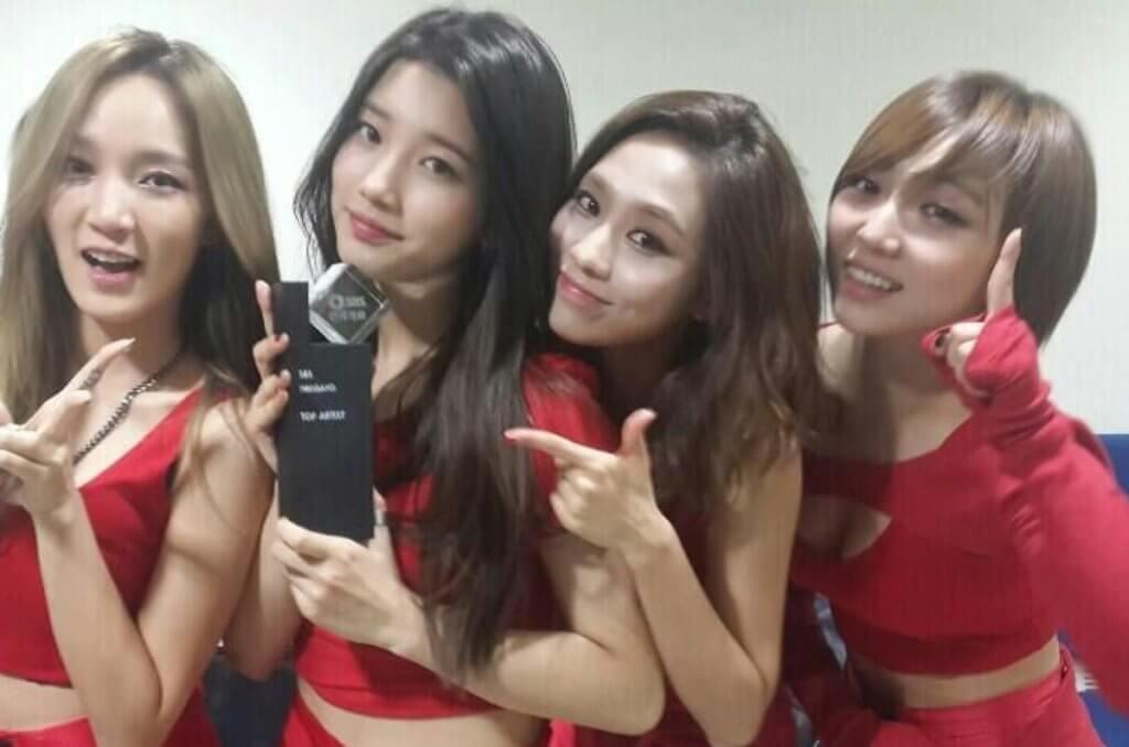 miss A出道後,秀智因清純氣質而成為隊中最受歡迎的成員。