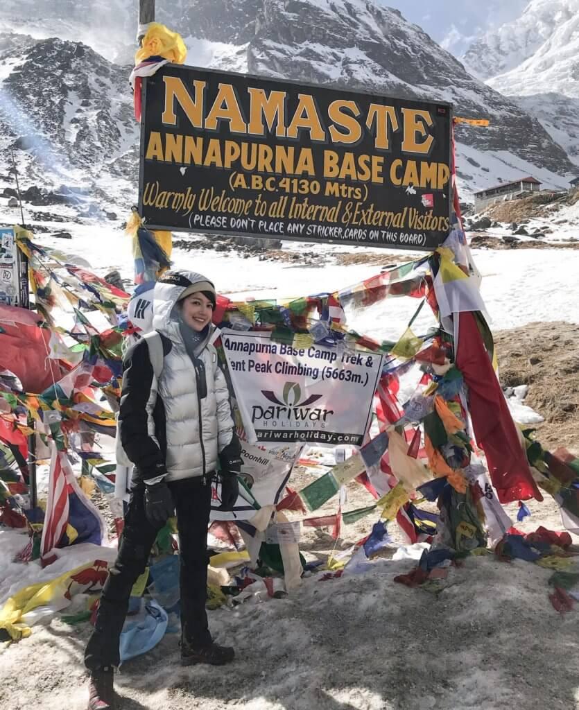 蘇皓兒今年一月跟王宗堯分手,分手前一個人去了尼泊爾背包遊,旅程令她思考人生,亦學懂放下。
