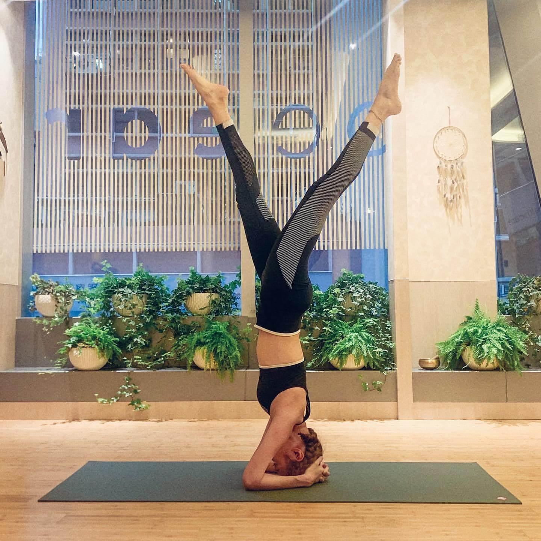 倪晨曦分享孕期不增磅的秘密是做瑜伽