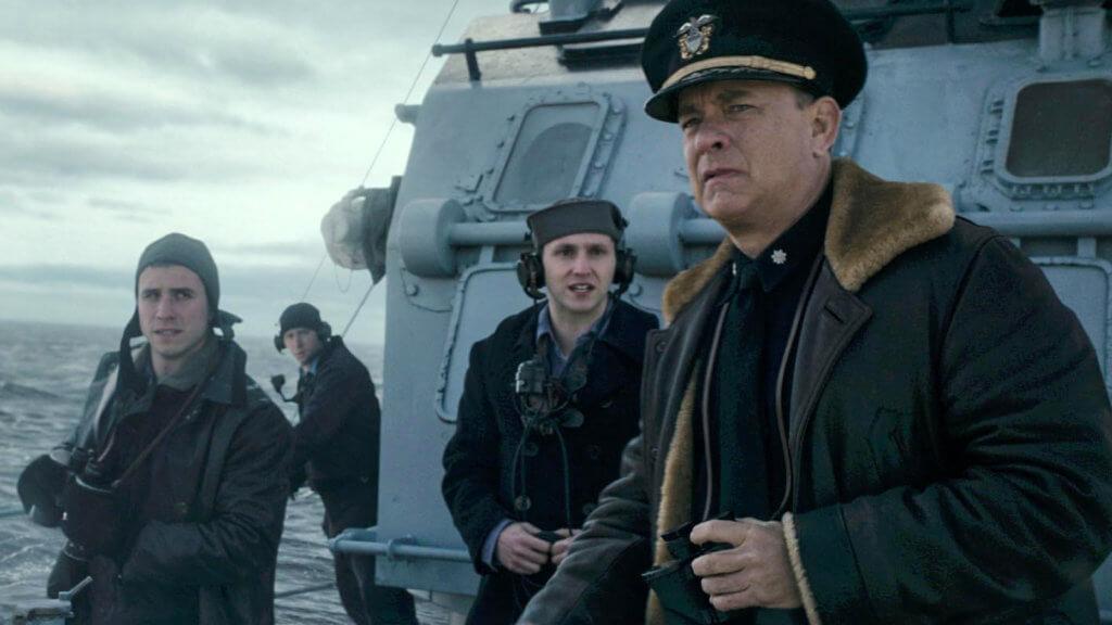 湯漢斯在《雷霆戰艦》化身二戰英雄,海上救千兵。