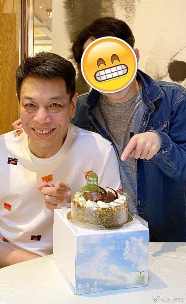 李健仁的最新近照,已是去年五月,朋友為他慶祝生日。