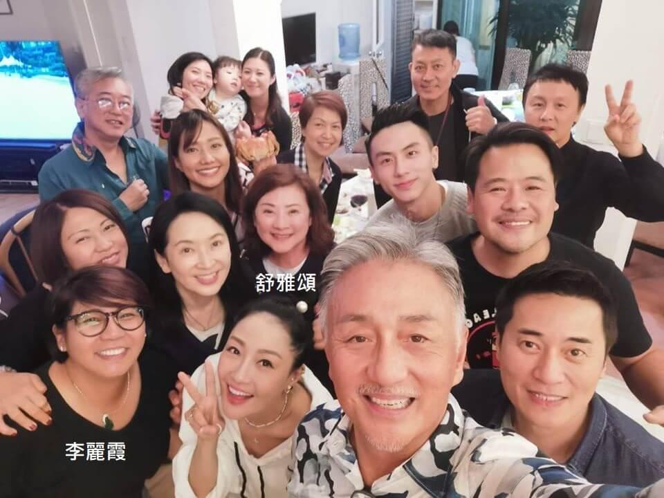 李麗霞與《牛下女高音》一眾演員聚會,舒雅頌姐姐也有參與。