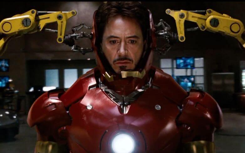 BOB有Iron Man變身的感覺