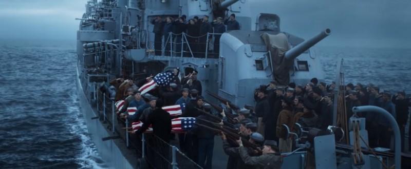主角在五天毫無空軍支援掩護下,護送乘載上千人的國際商船艦隊。