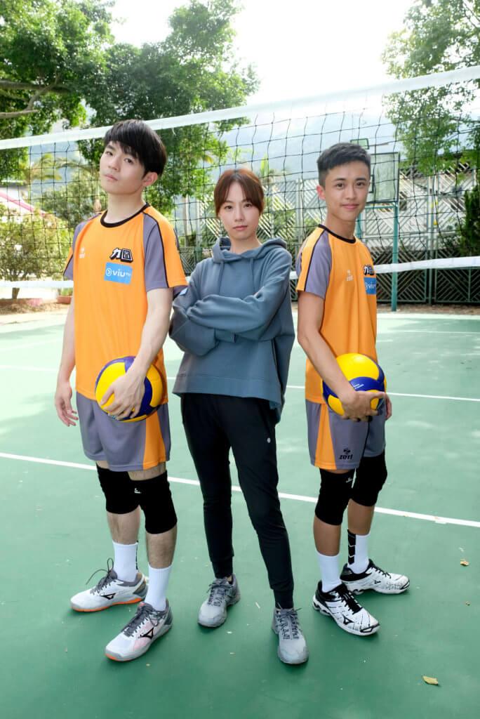 Zeno最近與鄧麗欣拍攝ViuTV新劇,有不少打排球戲份。