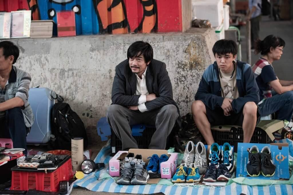 顧定軒早前與郭富城合作電影《麥路人》,飾演離家出走反叛青年。