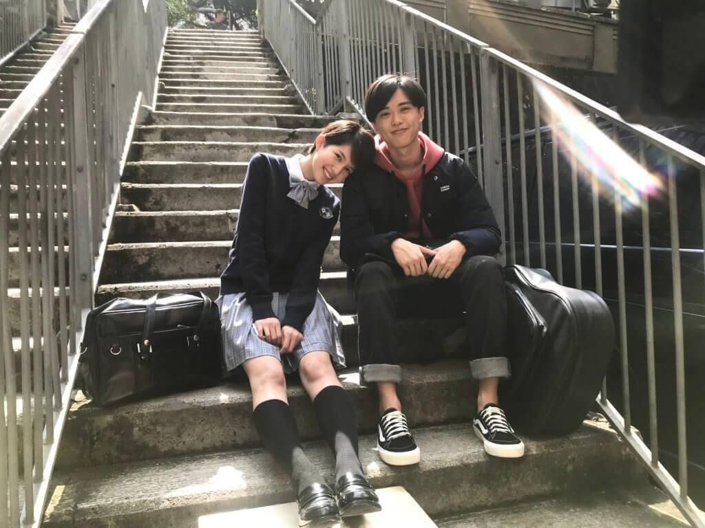 顧定軒與蘇皓兒認識多年,拍攝時很快有默契。