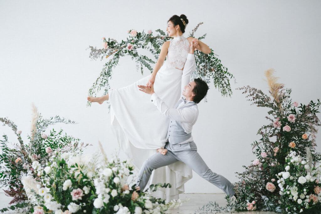 吳雲甫三月與太太Jackie在港註冊,由於疫情關係,婚禮一切從簡。