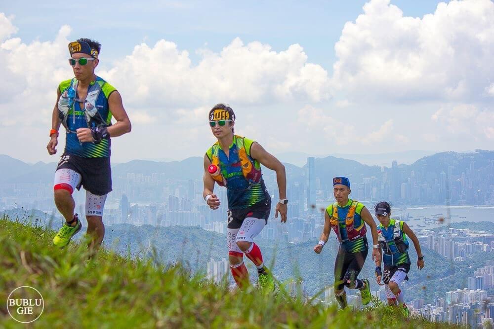 吳雲甫跟友人組隊跑山,令他可以欣賞到香港山景美態。